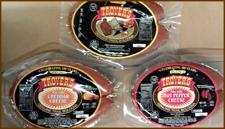 Troyer's Genuine Trail Bologna Rings