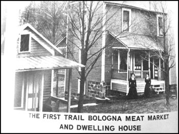 Troyer's Genuine Trail Bologna First House