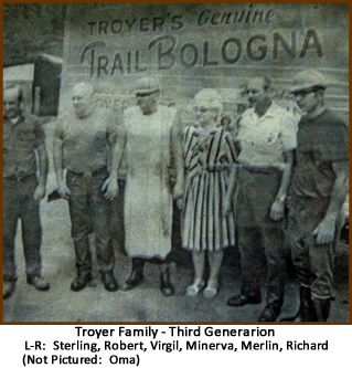 Troyer Family - Third Generation